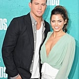 Channing Tatum and Jenna Dewan looked cute together on the red carpet.
