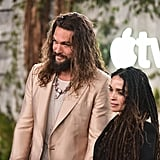 Jason Momoa and Lisa Bonet at Apple TV's See Premiere Photos