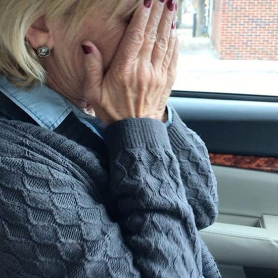 Mum Cries After Voting For Hillary Clinton