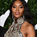 Naomi Campbell at the British Fashion Awards 2019 in London