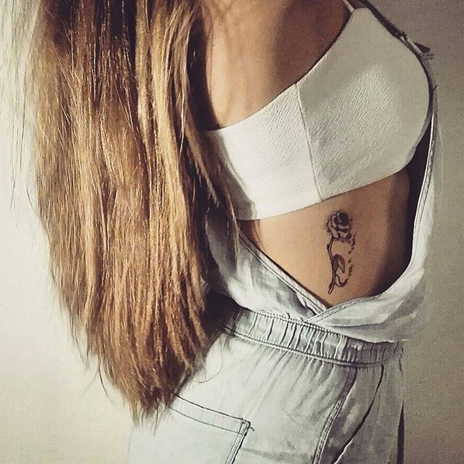 Small Beauty And The Beast Tattoos Popsugar Love Uk
