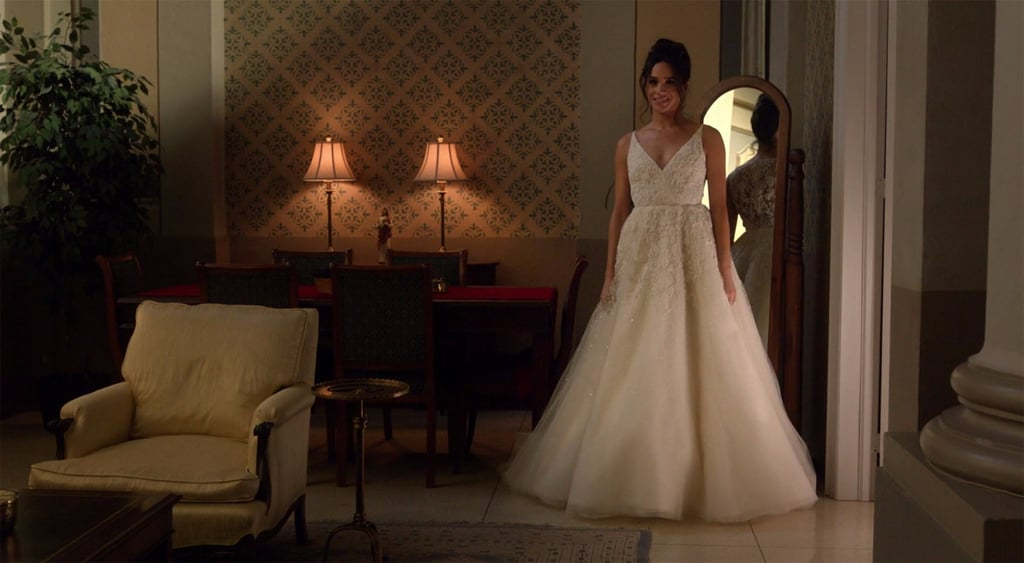 Meghan Markle's Onscreen Wedding Dress Will Get You Excited For Her Own Gown in Real Life