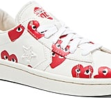 Comme des Garcons Low Top Canvas Sneakers (£95)