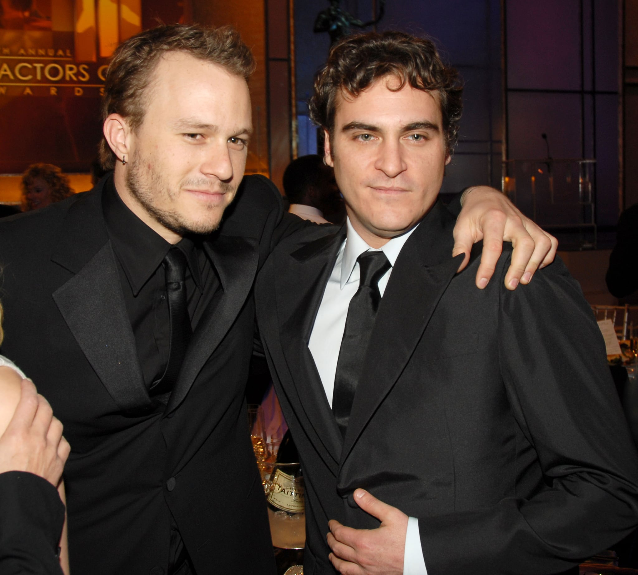 Heath Ledger and Joaquin Phoenix  10612_km0895.JPG (Photo by KMazur/WireImage for Turner)