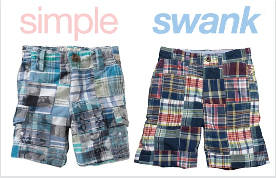 Madras Shorts for Boys