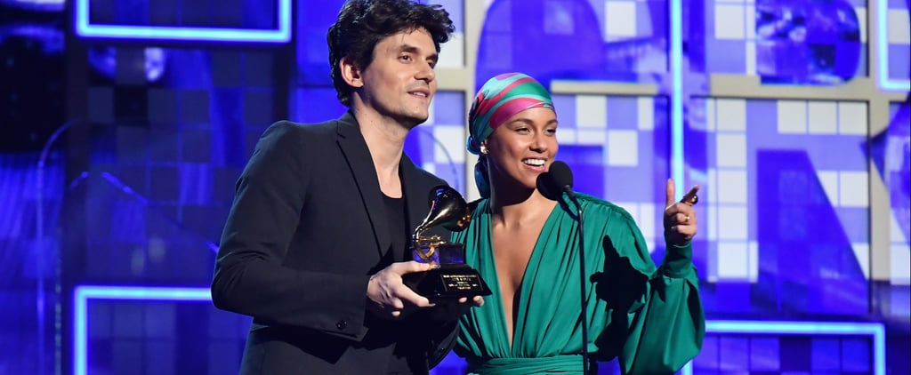 John Mayer Broke His Grammy For Alicia Keys