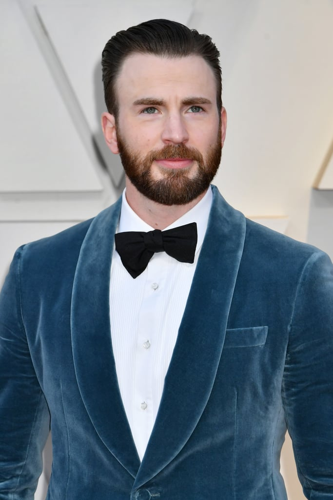 Chris Evans at the Oscars 2019 | POPSUGAR Celebrity Photo 3