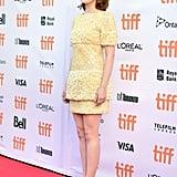 Emma Wore a Little Yellow Chanel Dress to the TIFF Premiere of Her New Film La La Land