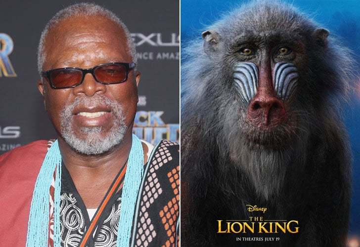 who plays rafiki in the lion king reboot