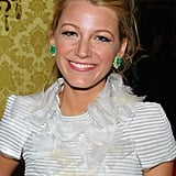 Blake Lively Dresses Up to Be Toasted by Chanel