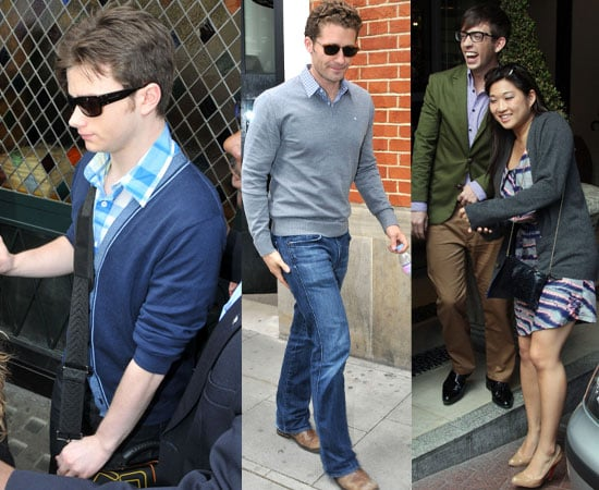 Pictures of Glee Cast in London