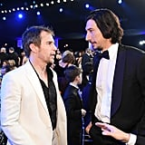 Sam Rockwell and Adam Driver at the 2020 SAG Awards