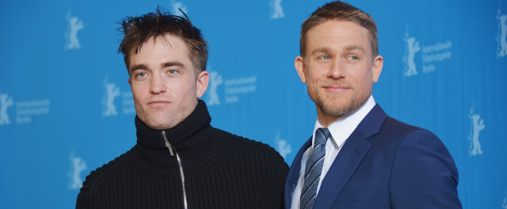 Charlie Hunnam and Robert Pattinson Link Up to Melt Hearts in Berlin