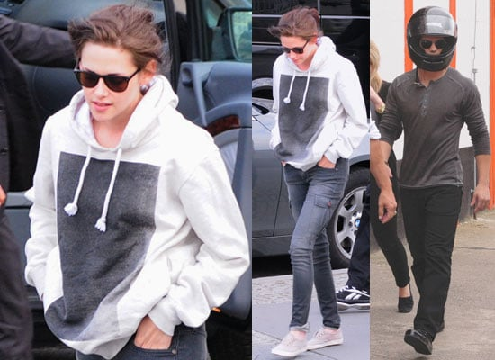 Pictures of Kristen Stewart and Taylor Lautner in Berlin