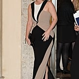 We Wouldn't Be Surprised If She Wore a Form Fitting Dress That Flatters Her Figure