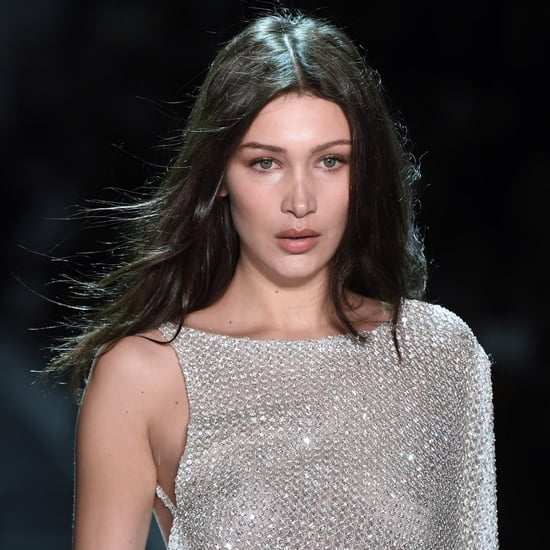 Bella Hadid in Alexandre Vauthier Couture Show Spring 2017