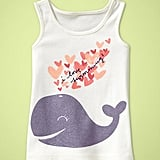 Baby Gap Summer Fun Whale Tank ($10, on sale from $15)