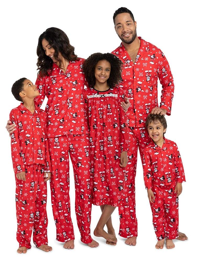 85ec63a786 Disney Mickey Mouse Christmas Holiday Family Sleepwear Pajamas ...