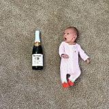 Baby vs. sparkling cider.