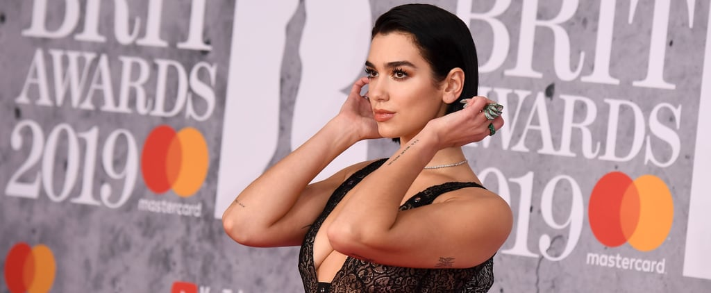 Dua Lipa's Christopher Kane Dress at the 2019 Brit Awards