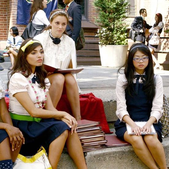 Nelly Yuki Wearing Eva Chen Costume in Gossip Girl Reboot