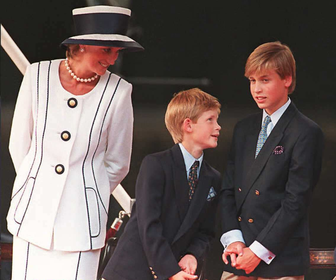 how old were william and harry when diana died popsugar celebrity how old were william and harry when