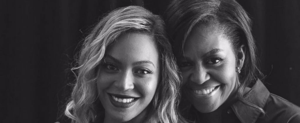 10 Times Michelle Obama and Beyoncé Were BFF Goals