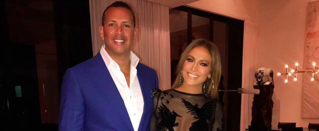 J Lo's Birthday Party Was Fabulous, but Her Dress Stole the Show