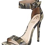 Rihanna for River Island Camouflage Heels ($80)