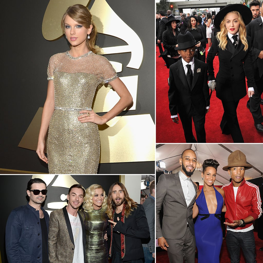 2014 Grammy Awards Red Carpet Celebrity Pictures