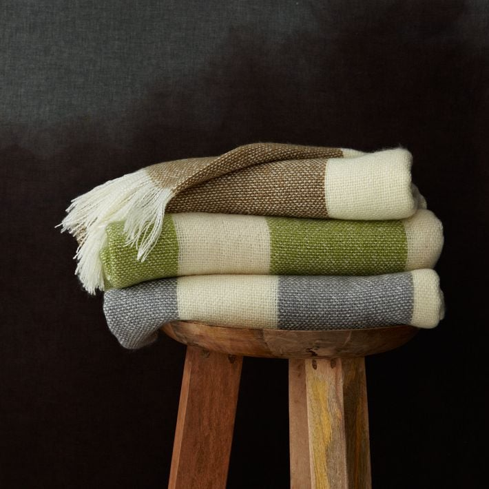 West Elm's Favorite Throw ($19) is affordable enough to stock up on, and would look great draped over your favorite chair.