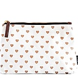 Maika Copper Hearts Zipper Pouch