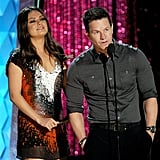Mila Kunis and Mark Wahlberg