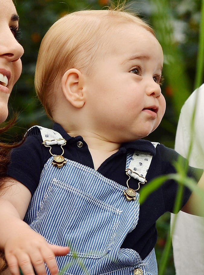 Prince George's Best Facial Expressions