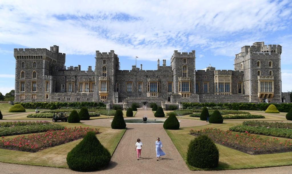 The East Terrace Garden at Windsor Castle