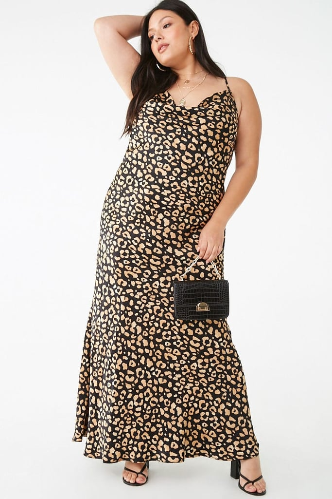 Plus-Size Leopard Maxi Dress   Best Summer Dresses From Forever 21 ...