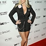 Kendra Wilkinson was a hot mobster in 2010.
