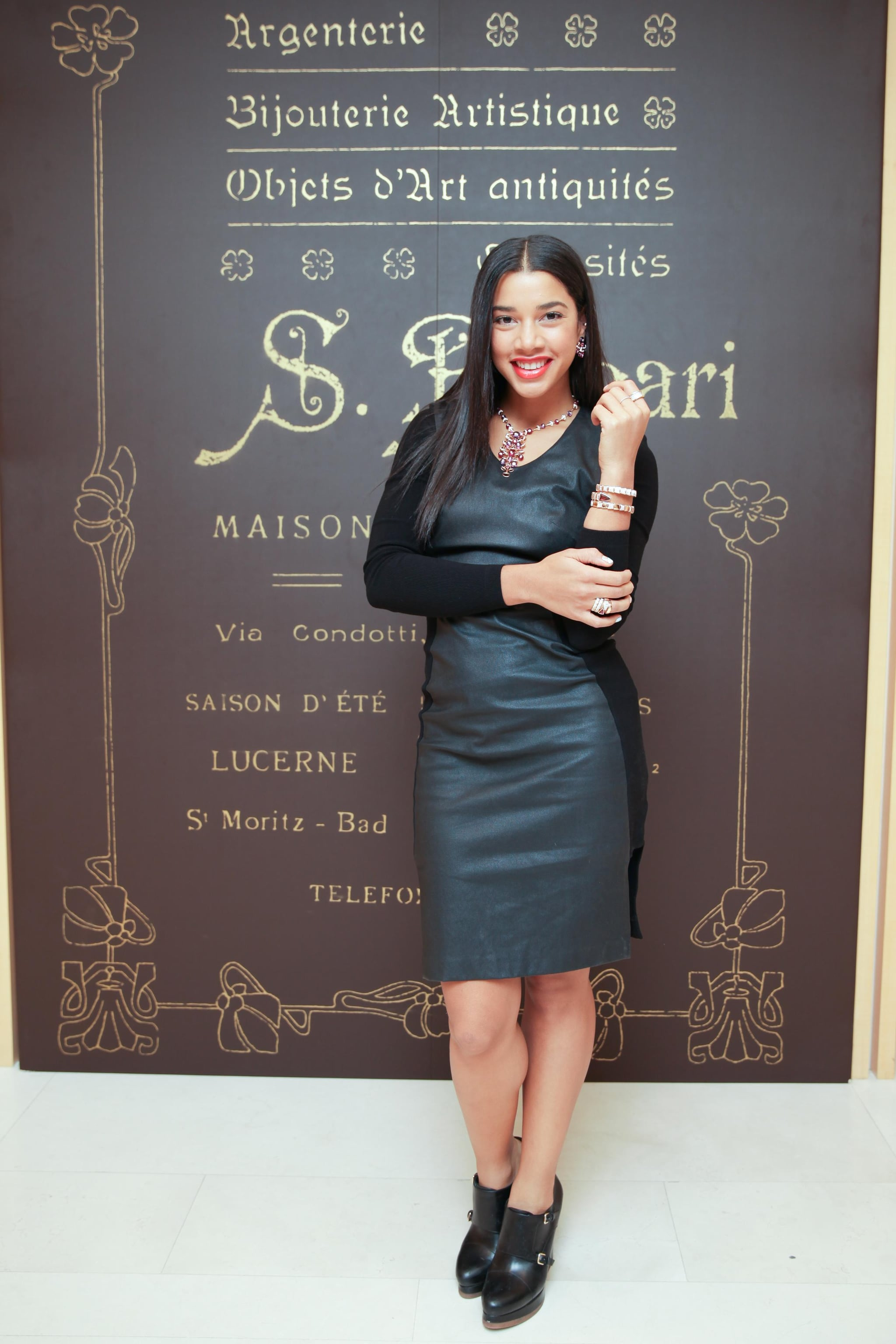 Hannah Bronfman joined Harper's Bazaar to celebrate with Bulgari at the jeweler's New York boutique.