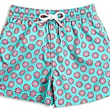 Donut Print Swim Trunks