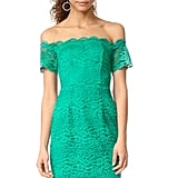 You can't go wrong in this green BB Dakota RSVP Moreen Off Shoulder Bustier Dress ($185).