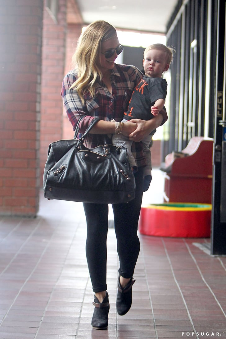 Hilary Duff and Birthday Boy Luca Get the Party Started