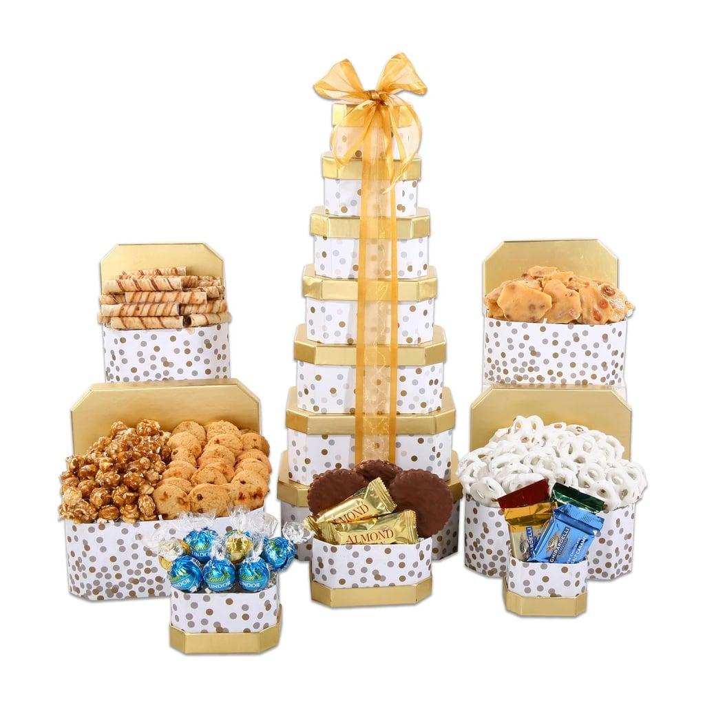 Alder Creek Gifts Ultimate Tower Christmas Gift Basket