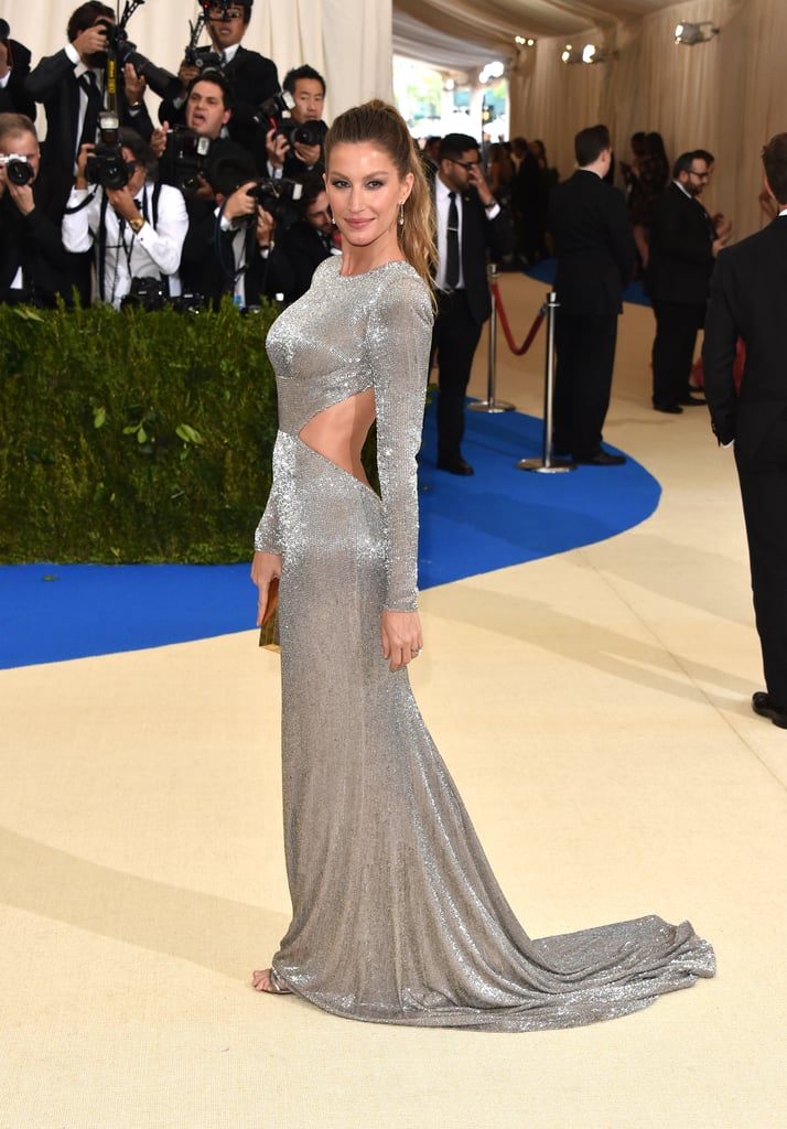 Look Fast and You Might Miss the Intricate Details on Gisele Bundchen's Met Gala Dress