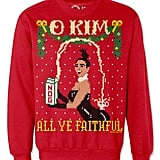 Kim Kardashian and Kanye West Ugly Christmas Sweaters | POPSUGAR ...