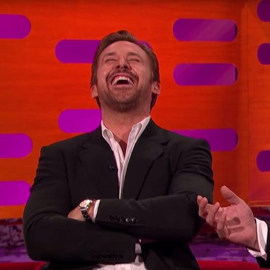 Ryan Gosling Laughing on The Graham Norton Show May 2016