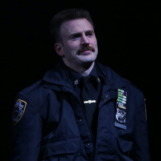 Reactions to Chris Evans's Mustache March 2018