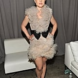 Kelly Osbourne was lucky enough to wear one of Marchesa's dazzling creations!