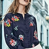 Boden Claudia Embroidered Blouse