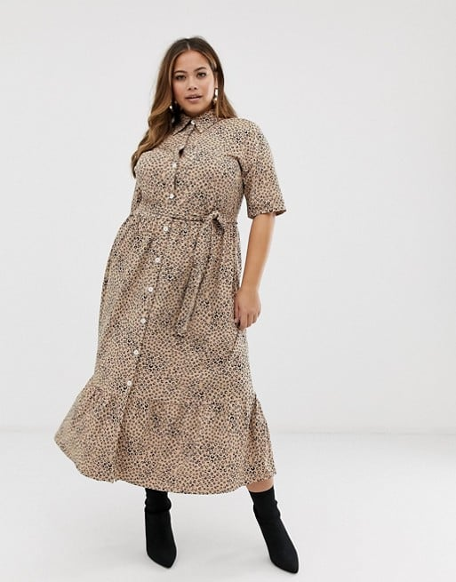 510ca6e502ac ASOS Curve Midi Shirt Dress | Flattering Plus-Size Dresses ...