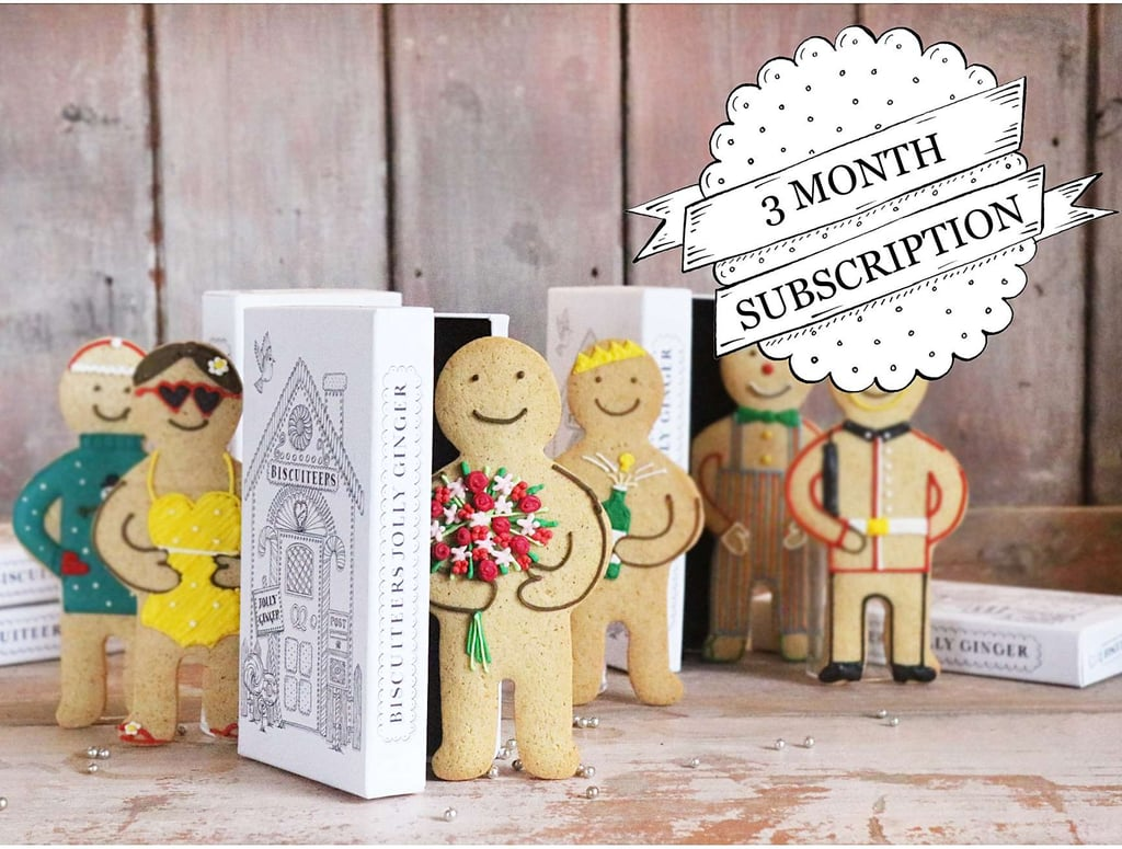 Biscuiteers Jolly Ginger Biscuit Subscription Box